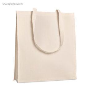 Bolsa 100% algodón con fuelle perfil - RG regalos publicitarios
