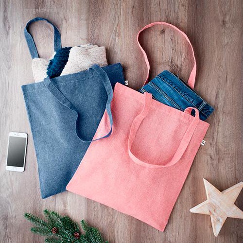 Bolsa de algodón reciclado colores - RG regalos publicitarios