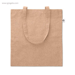 Bolsa de algodón reciclado natural - RG regalos publicitarios