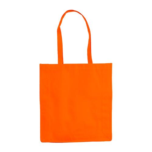 Bolsa non woven asas largas naranja - RG regalos publicitarios