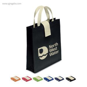 Bolsa plegable non woven - RG regalos publicitarios