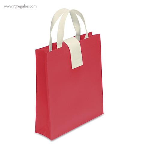 Bolsa plegable non woven roja - RG regalos publicitarios