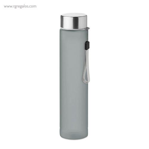 Botella de tritán 300 ml slim gris - RG regalos publicitarios