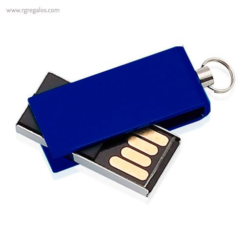 Mini memoria USB 8 GB azul - RG regalos publicitarios