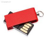 Mini memoria USB 8 GB roja - RG regalos publicitarios