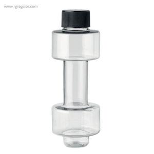 Botella-de-agua-mancuerna-transparente-RG-regalos-empresa