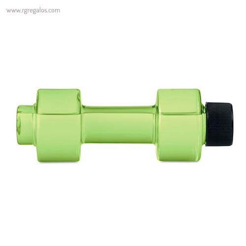 Botella de agua mancuerna verde lima - RG regalos publicitarios