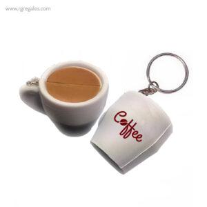 LLaveros anti estrés café taza - RG regalos publicitarios (1)