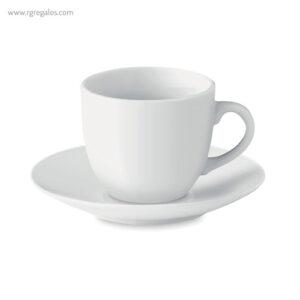 Taza cerámica para café 80 ml - RG regalos publicitarios