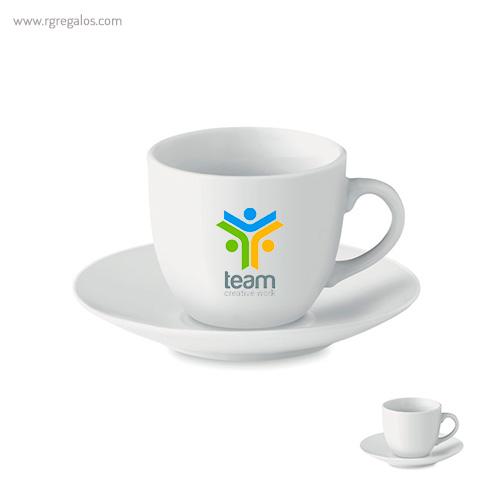 Taza cerámica para café - RG regalos publicitarios