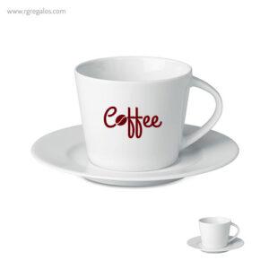 Taza de cerámica para cappuccino - RG regalos publicitarios