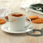 Taza de cerámica para cappuccino detalle - RG regalos publicitarios