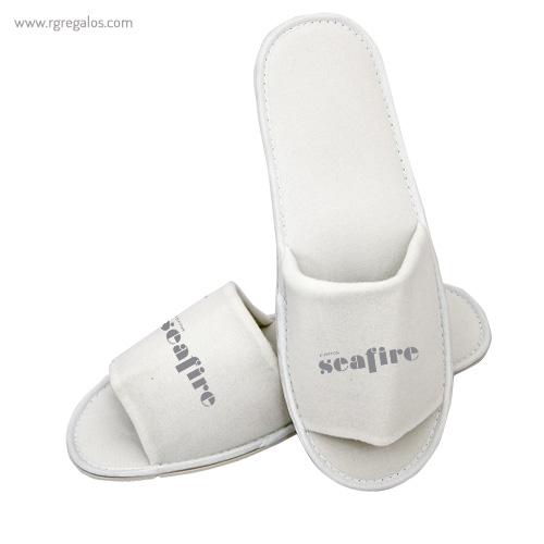 Zapatillas unisex algodón con logotipo - RG regalos publicitarios