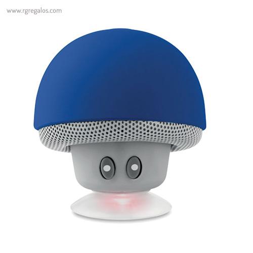 Altavoz y soporte para móvil azul - RG regalos publicitarios