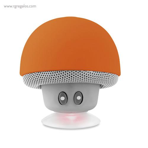 Altavoz y soporte para móvil naranja - RG regalos publicitarios