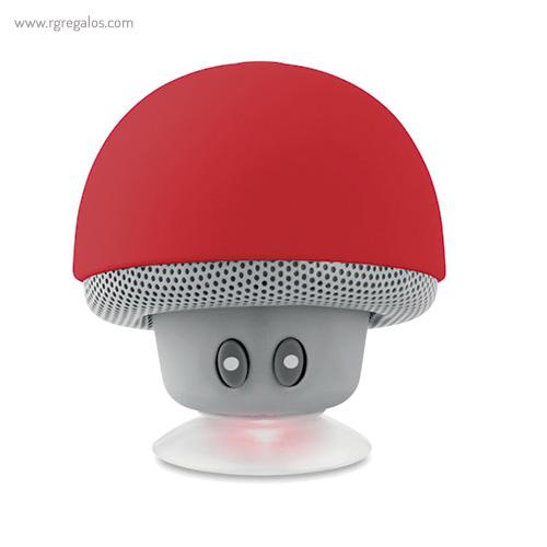 Altavoz y soporte para móvil rojo - RG regalos publicitarios