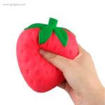 Anti estrés squishy frutas y verduras fresa - RG regalos publicitarios