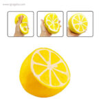 Anti estrés squishy frutas y verduras limon - RG regalos publicitarios