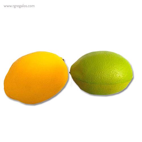 Anti estrés squishy frutas y verduras limones - RG regalos publicitarios