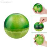 Anti estrés squishy frutas y verduras manzana 1 - RG regalos publicitarios