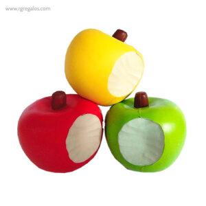 Anti estrés squishy frutas y verduras manzana - RG regalos publicitarios