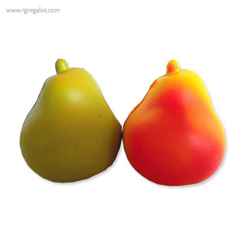 Anti estrés squishy frutas y verduras pera - RG regalos publicitarios