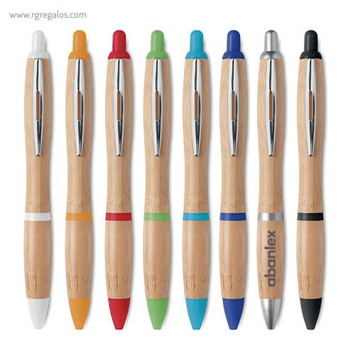 Bolígrafo de bambú - RG regalos publicitarios
