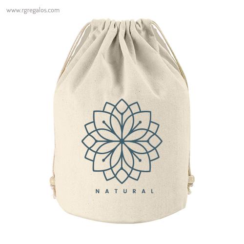 Bolsa Neceser saco algodón logotipo - RG regalos publicitarios