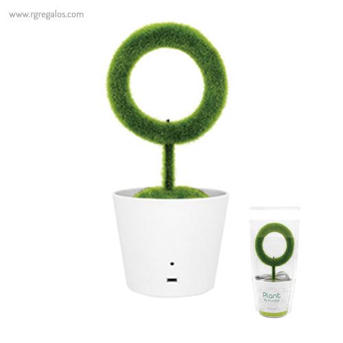Planta purificadora de aire con - RG regalos publicitarios