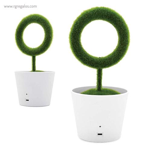 Planta purificadora de aire con cable USB - RG regalos publicitarios