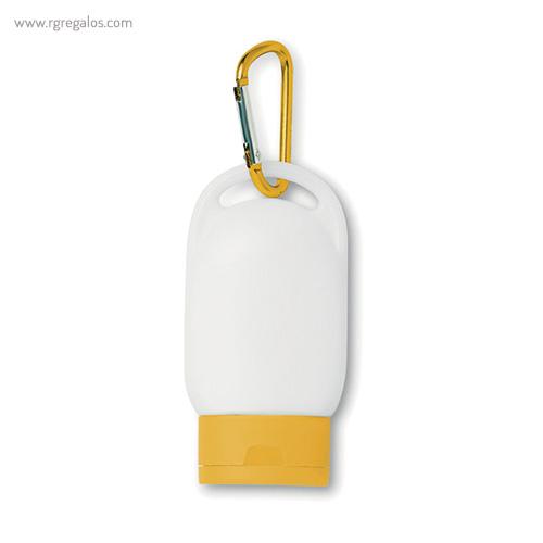 Protección solar factor 30 amarillo - RG regalos publicitarios