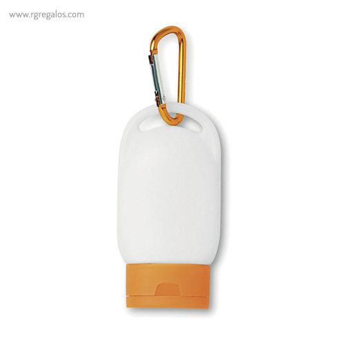 Protección solar factor 30 naranja - RG regalos publicitarios