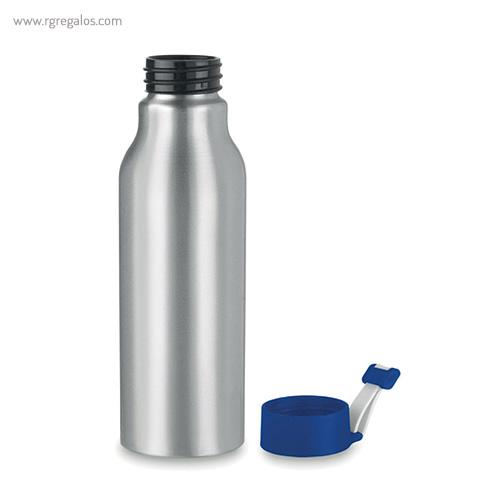 Botella de aluminio personalizada 500 ml azul 1 - RG regalos publicitarios