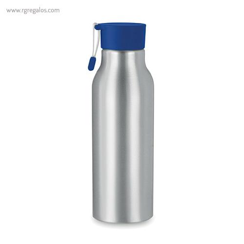 Botella de aluminio personalizada 500 ml azul - RG regalos publicitarios