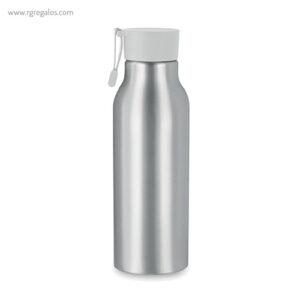 Botella de aluminio personalizada 500 ml blanco - RG regalos publicitarios