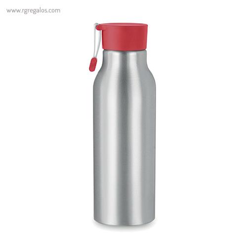 Botella de aluminio personalizada 500 ml roja - RG regalos publicitarios