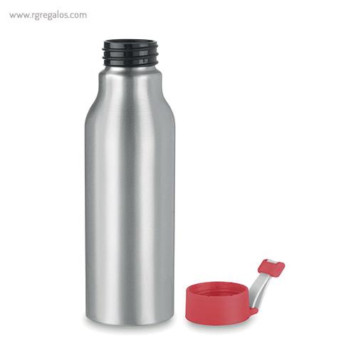 Botella de aluminio personalizada 500 ml silicona - RG regalos publicitarios
