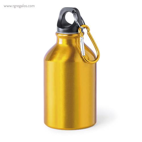 Botella de deporte aluminio 330 ml amarilla - RG regalos publicitarios