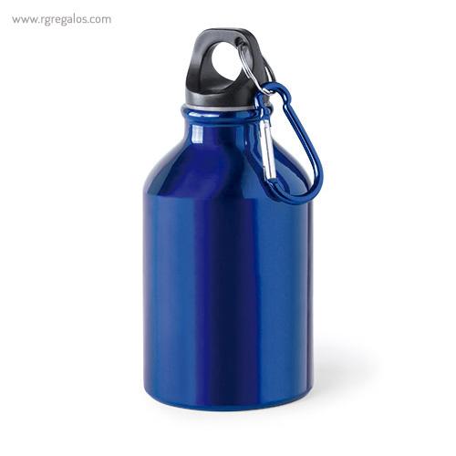 Botella de deporte aluminio 330 ml azul - RG regalos publicitarios