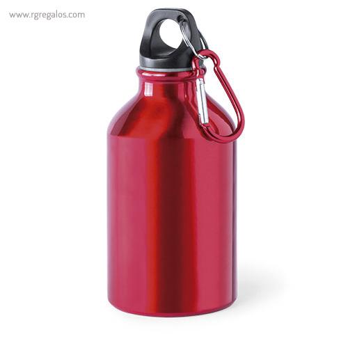 Botella de deporte aluminio 330 ml roja - RG regalos publicitarios