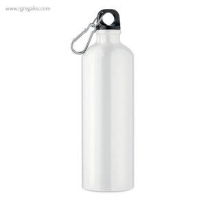 Botella de deporte aluminio 750 ml blanca - RG regalos publicitarios