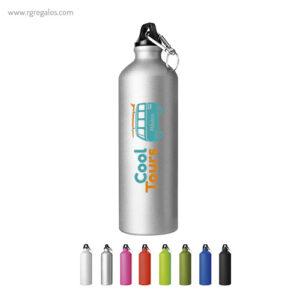 Botella de deporte aluminio mate 750 ml - RG regalos publicitarios