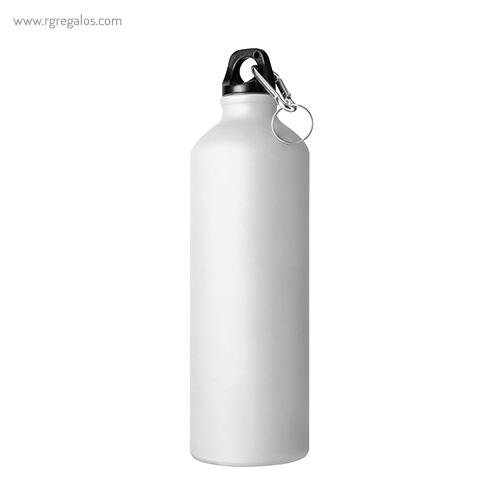 Botella de deporte aluminio mate 750 ml negra - RG regalos publicitarios
