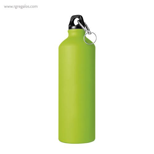 Botella de deporte aluminio mate 750 ml verde - RG regalos publicitarios