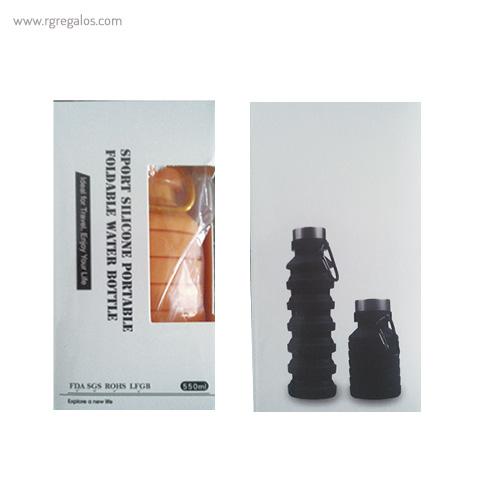 Botella plegable de silicona 500 ml presentación - RG regalos publicitarios (2)