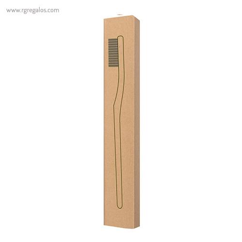 Cepillo de dientes bambú caja - RG regalos publicitarios