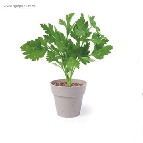 Macetero biodegradable 2 piezas perejil - RG regalos publicitarios