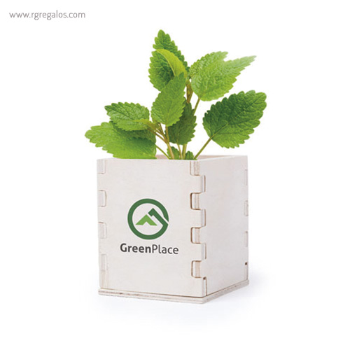 Macetero biodegradable - RG regalos publicitarios
