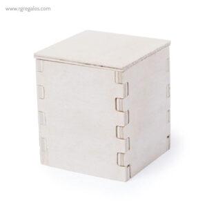 Macetero biodegradable caja nature - RG regalos publicitarios