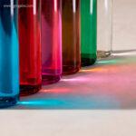 Botella de cristal colores de 500 ml base - RG regalos promocionales